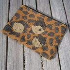 Pochette YellowPing - Pochettes en coton recyclé, imprimées d'illustrations exclusives.