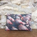 Coussin Flamants roses